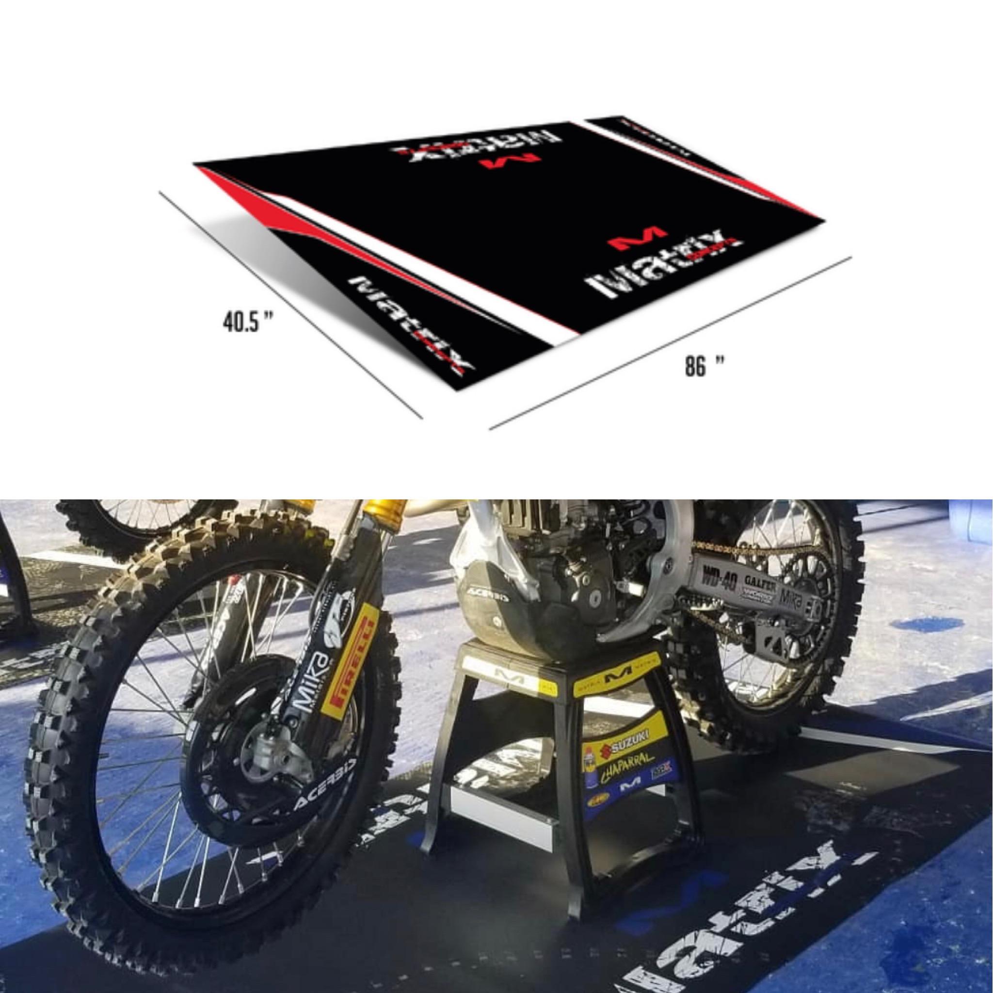 Honda motorcycle ATV logo door mat